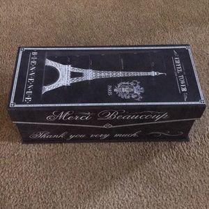 Eiffel Tower box
